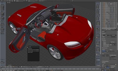 Programmi gratuiti per modellazione 3d e rendering for Programmi per designer
