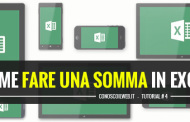 Come fare una somma in Excel