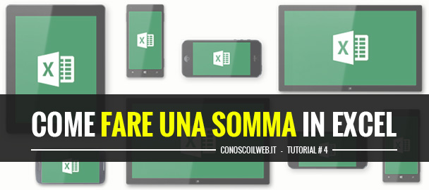 come-fare-una-somma-in-excel