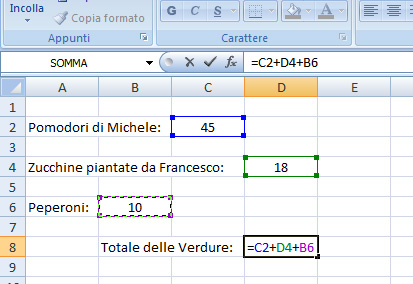 somma-in-excel