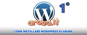 Come installare wordpress su aruba for Programmi rendering gratis