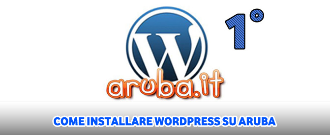Come installare WordPress su Aruba