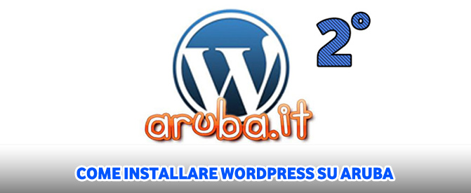 Come installare wordpress su aruba parte 2