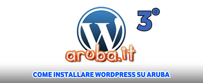 Come installare wordpress su aruba parte 3