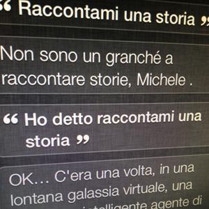 Siri raccontami una storia..