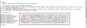 wordpress-su-aruba-codici-sicurezza