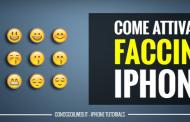 Come attivare faccine iPhone
