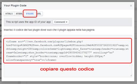 aggiungere-box-facebook-wordpress