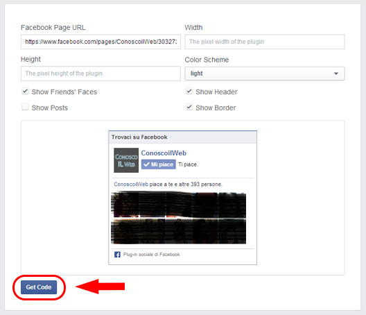 inserire-facebook-in-wordpress