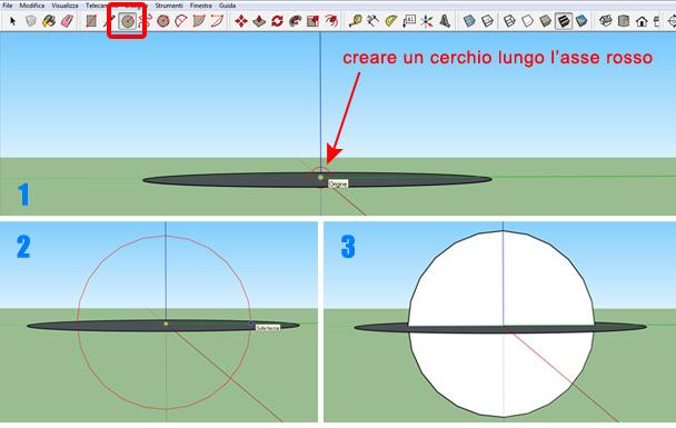 creare-sfera-sketchup