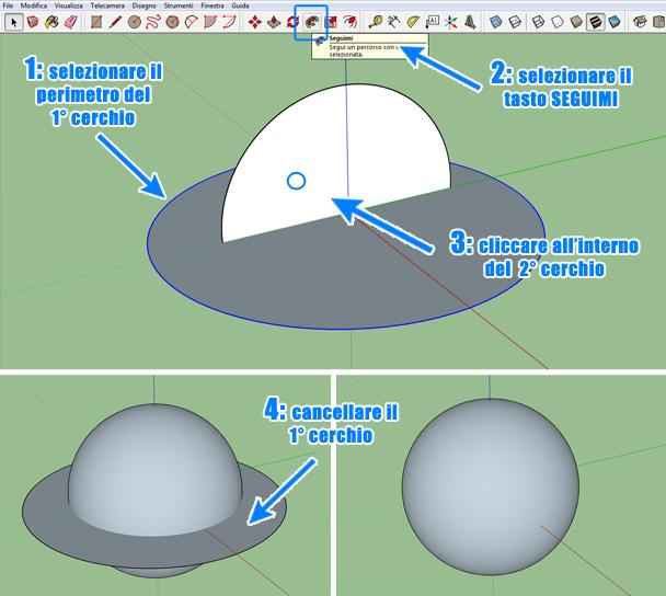 fare-sfera-sketchup