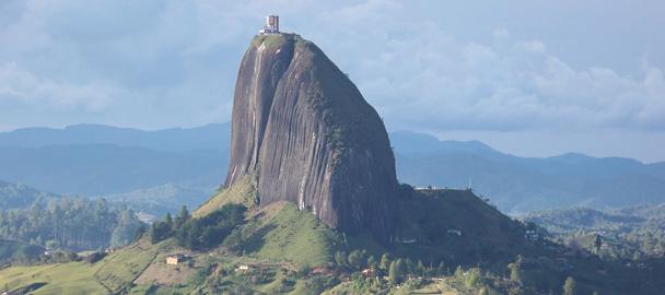 La roccia di Guatape