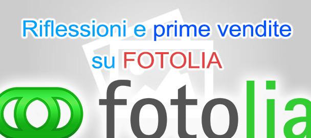 Prime vendite e crediti su Fotolia