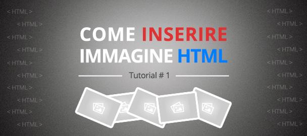 Come inserire immagine html