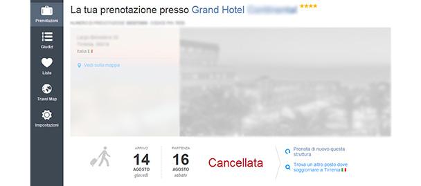 prenotazione-Booking-cancellare