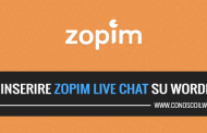 Come inserire Zopim Live Chat su WordPress